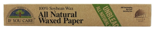 Papier parchemin naturel en cire de soja - If You Care