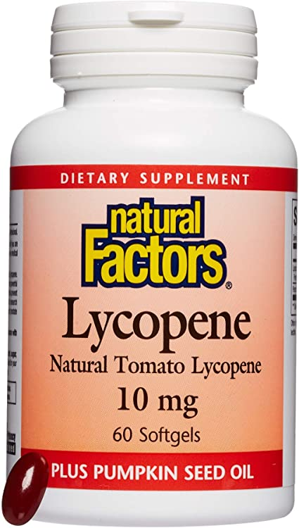 Lycopène naturel de tomate 10 mg pour hommes - Natural Factors