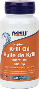 Huile de Krill antarctique - Now Foods