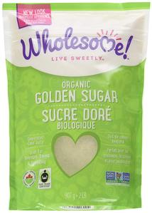 Sucre à glacer doré bio - Wholesome