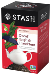 black tea decaf english breakfast - Stash
