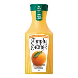 Jus d'orange sans pulpe - 1,54 L - Simply Orange