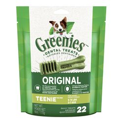 Gâteries dentaires quotidiennes pour chiens 5-15 lbs - 170 g - Greenies
