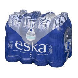 Eau de source naturelle - 12x500 ml - Eska