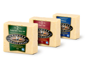 Cheddar 2 years old - Maison d'affinage Maurice Dufour