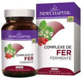 Complexe de fer fermenté - New Chapter
