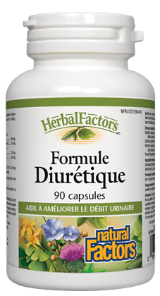 Formule diurétique - Natural Factors