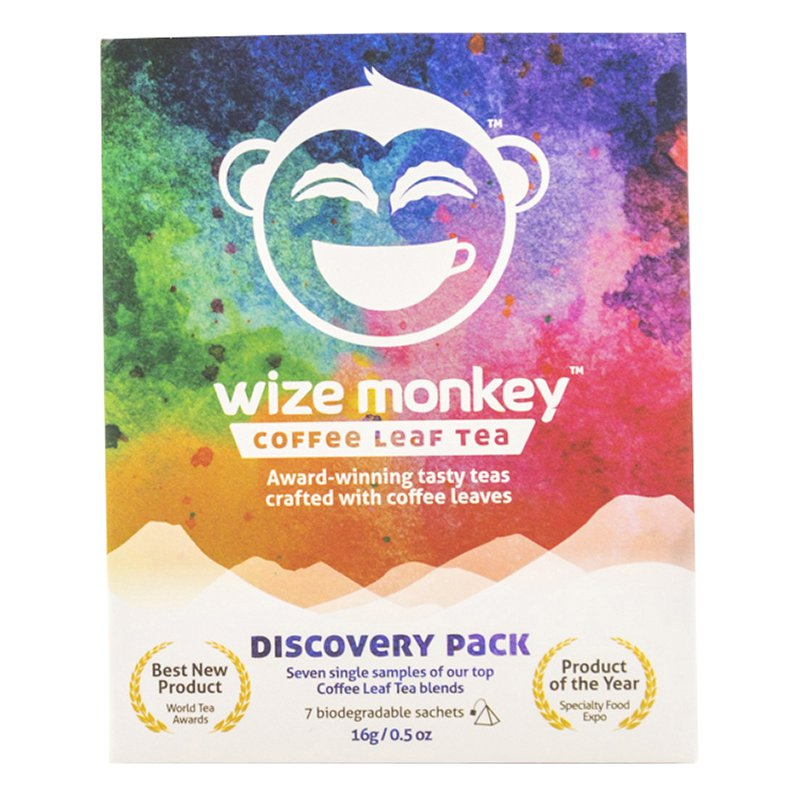 Coffee Leaf tea Discovery Pack - Wize Monkey