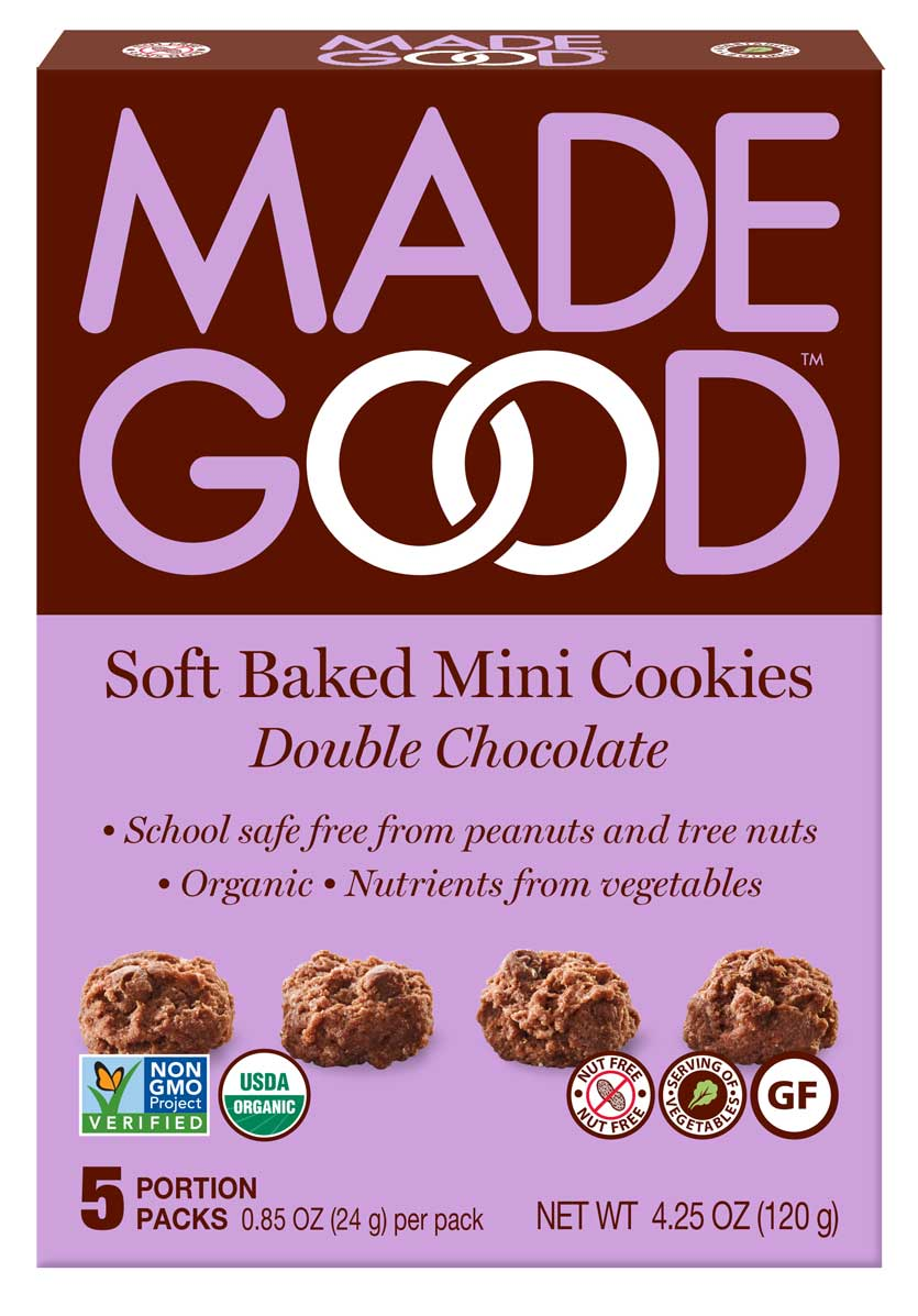Soft Baked Mini Cookies Double Chocolat - Made Good