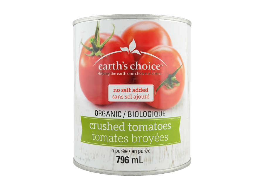 Tomates broyées - Earth's choice