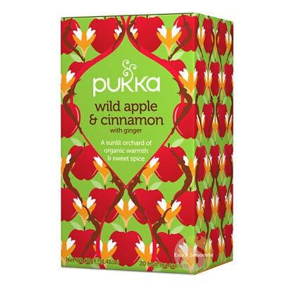 Pukka -Wild apple and cinnamon - Epipresto