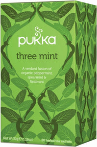 Three mint - Pukka