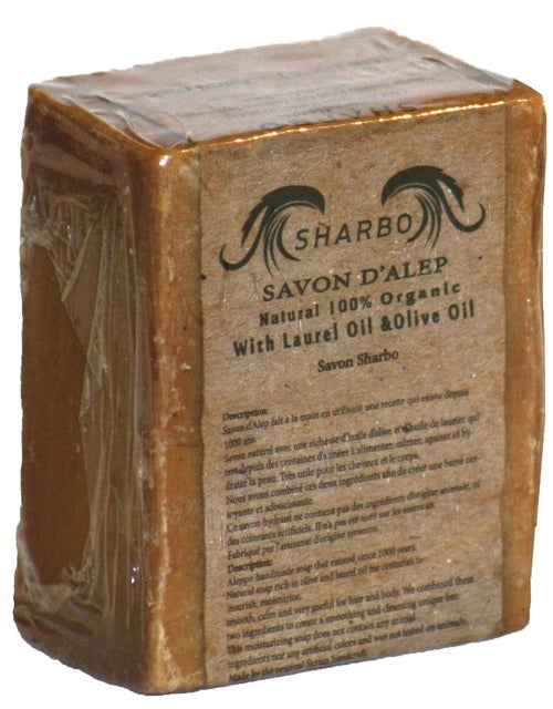 Organic Aleppo Soap Laurel And Olive Oil