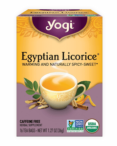 Egyptian Licorice sans caféine - Yogi