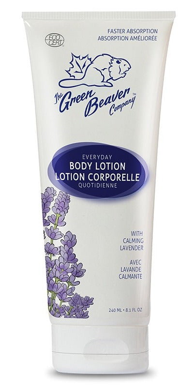Lotion corporelle quotidienne avec lavande calmande - The Green Beaver Company