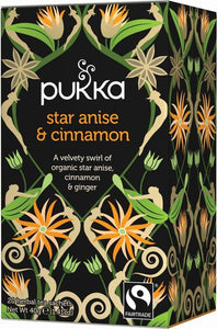 Star anise and cinnamon - Pukka