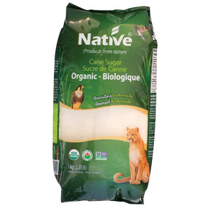 Sucre de canne bio - Native Organic