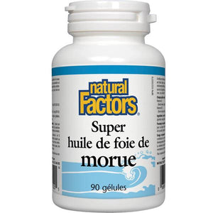 Super huile de foie de morue - Natural Factors