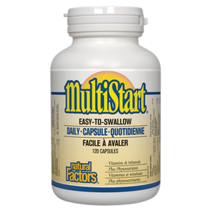 MultiStart quotidien multivitamine - Natural Factors