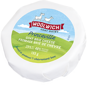 Fromage brie de chèvre - Woolwich goat dairy