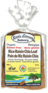 Little Stream Bakery -Pain de riz, raisin et chia - Epipresto