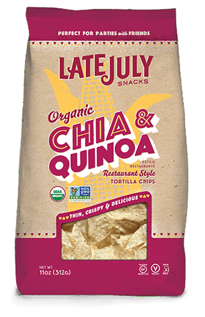 Tortilla  chia quinoa - BIO - Late July