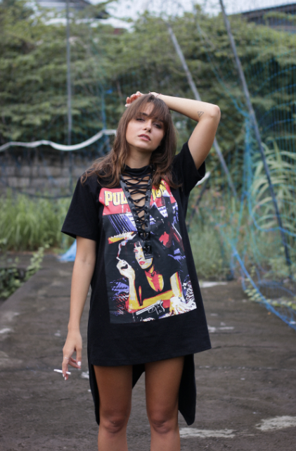 PULP FICTION T-SHIRT DRESS