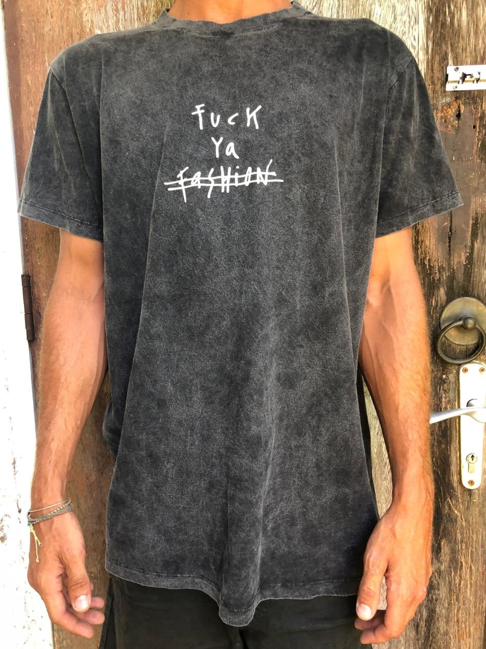 FUCK YA FASHION STONEWASH GREY
