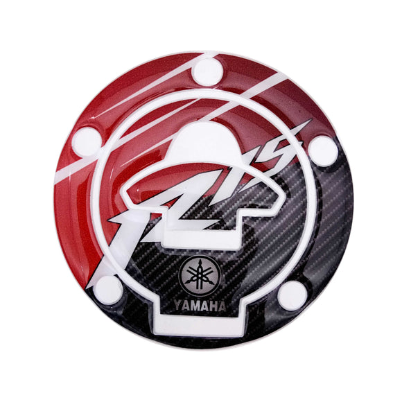 Yamaha R15 Gas Lid Pad Gas Cap (Type - Carbon Red)