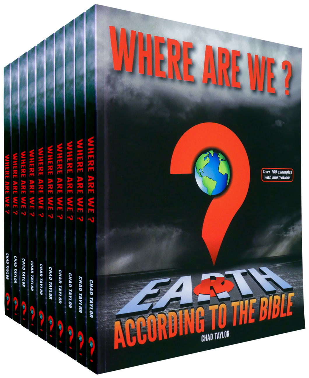 SAVE 35%  -  Pack of 100 paperback copies of WHERE ARE WE? Earth according to the Bible