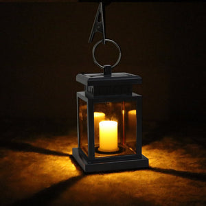 Waterproof Flickering Flame-less Solar LED Candle Light - FidgetTrends