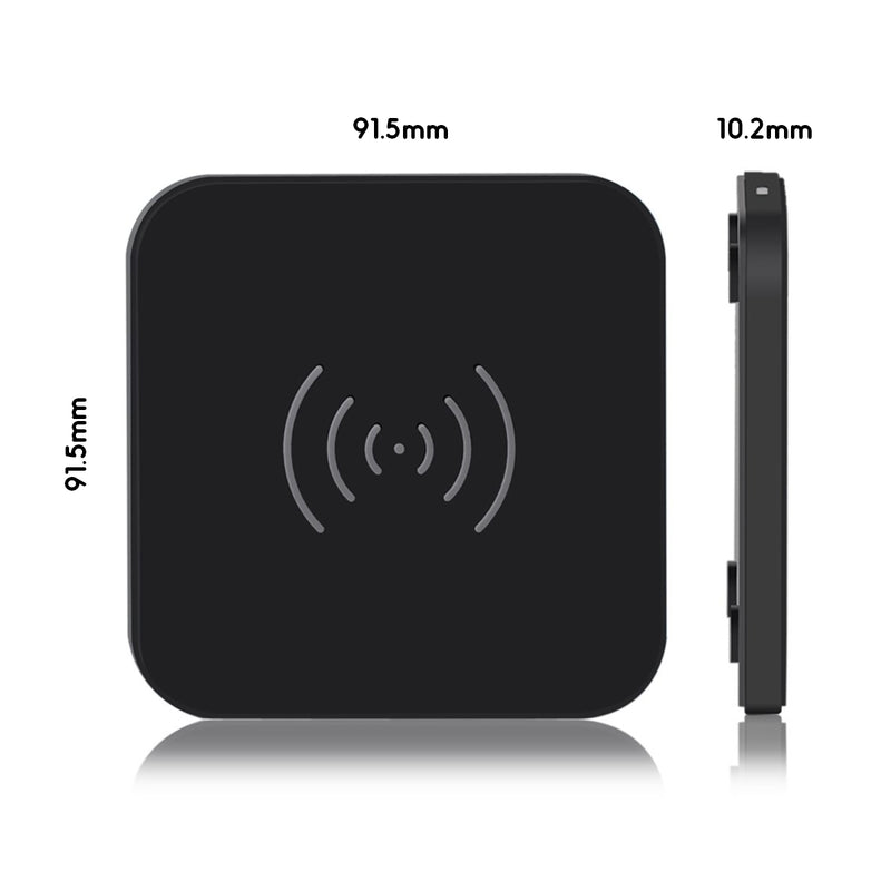 Dimensions of Choetech Wireless Charger