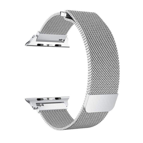 KYISGOS Milanese Loop Band (Silver) for 42mm Apple Watch