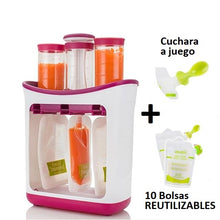 Set de Envasado HappyFood ™ - Pack con 10 Bolsas Reutilizables