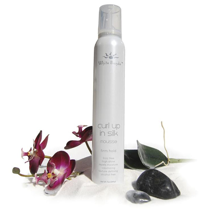 Curl Up in Silk - Firm Hold Mousse