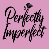 Imperfectly perfect womens t-shirt (Pastel pink)