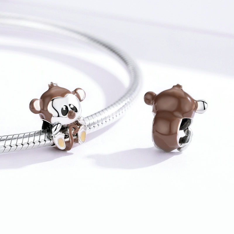 Lovely Monkey Animal Charm BSC125 - WOSTU