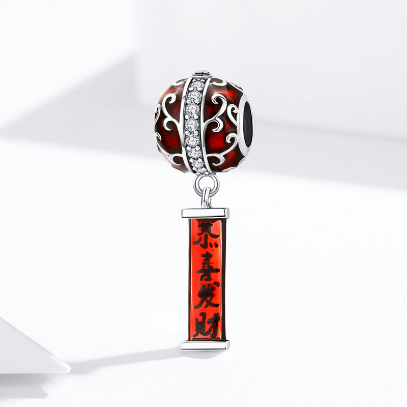 WOSTU Classical Lantern Red Beads BSC134 - WOSTU