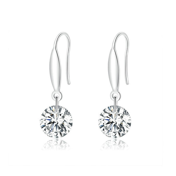 WOSTU Zircon Drop Earrings Wedding Jewelry BSE212 - WOSTU