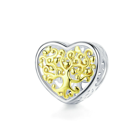 WOSTU  Tree For Life Heart Beads SCC1264 - WOSTU