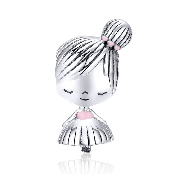 WOSTU LITTLE GIRL CHARM BEAD JEWELRY SCC1335 - WOSTU