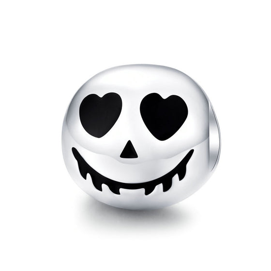 WOSTU HEART FACE DIY CHARM BEADS JEWELRY SCC1359 - WOSTU