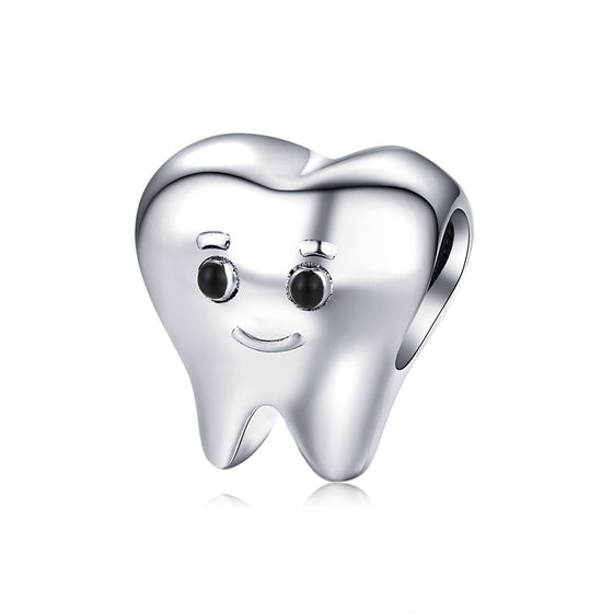 Lovely Tooth Metal Charm SCC1401 - WOSTU