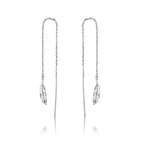 Chain Drop Earrings for Women SCE786 - WOSTU