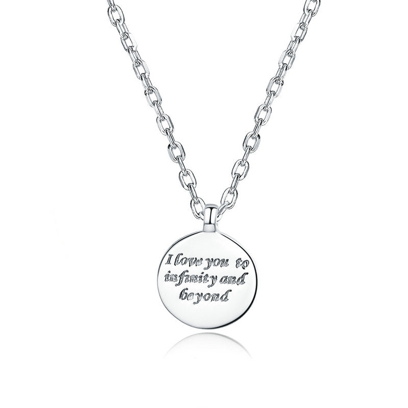 WOSTU Confessions Necklace For Women Jewelry SCN374 - WOSTU
