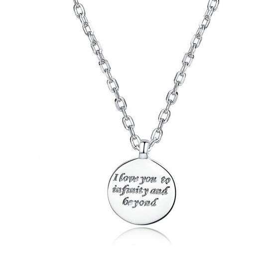 WOSTU Confessions Necklace For Women Jewelry SCN374
