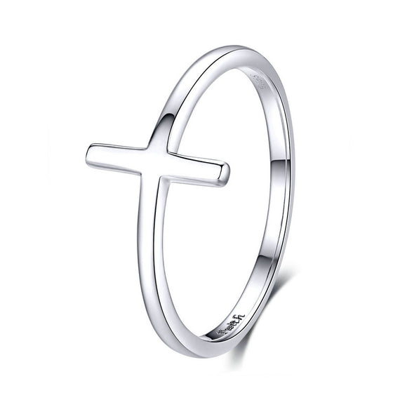 WOSTU CROSS RINGS GIFT JEWELRY SCR562 - WOSTU