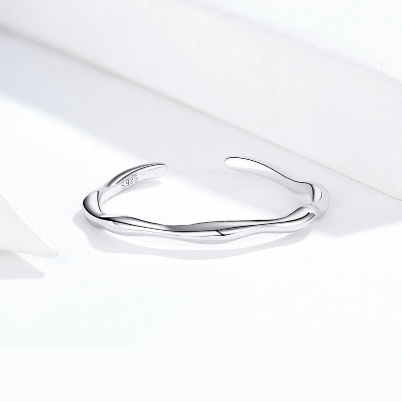WOSTU SIMPLE FINGER RINGS JEWELRY GIFT SCR593 - WOSTU