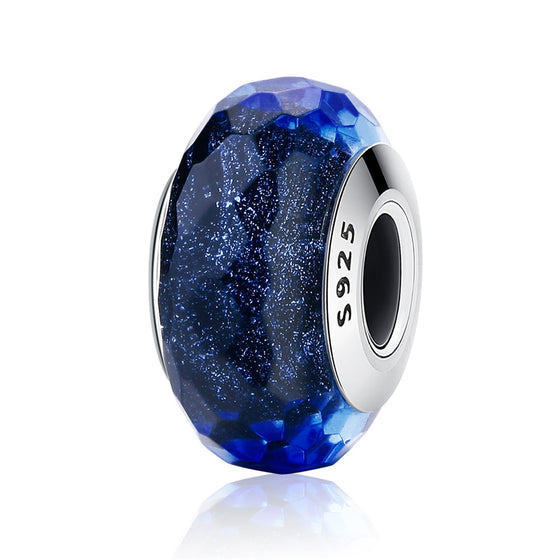 WOSTU BLUE STARRY SKY DIY JEWELRY CHARM BEADS SCZ034