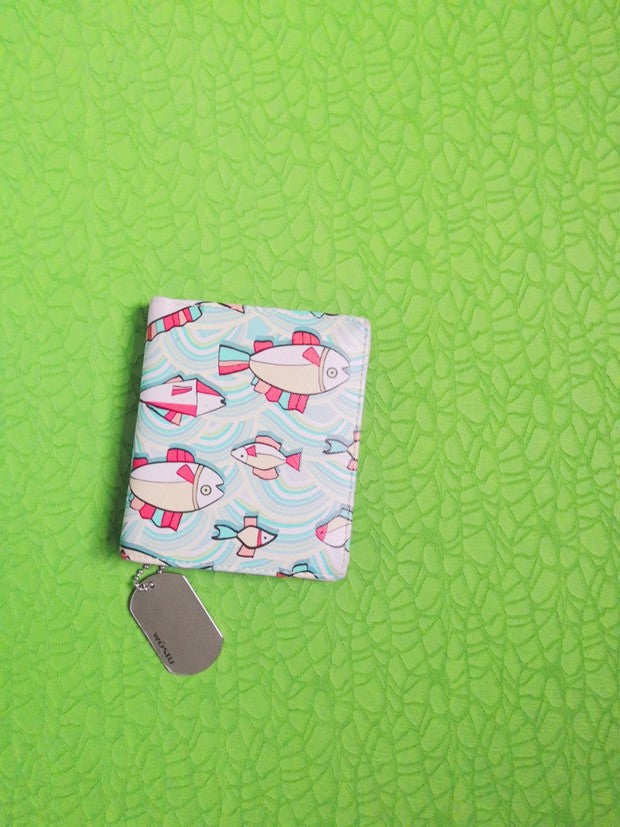 WOSTU Fresh fish pattern wallet